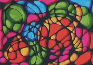 Colour neurographic - pen
