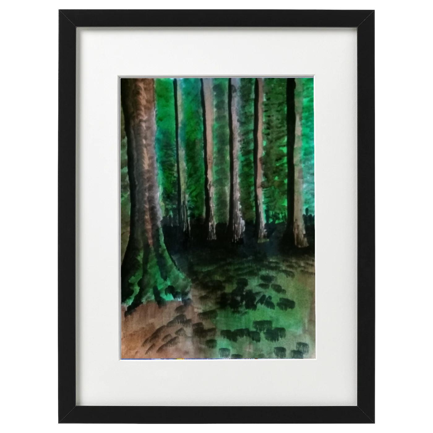 Blarbuie Woodland Labrynth - Ink