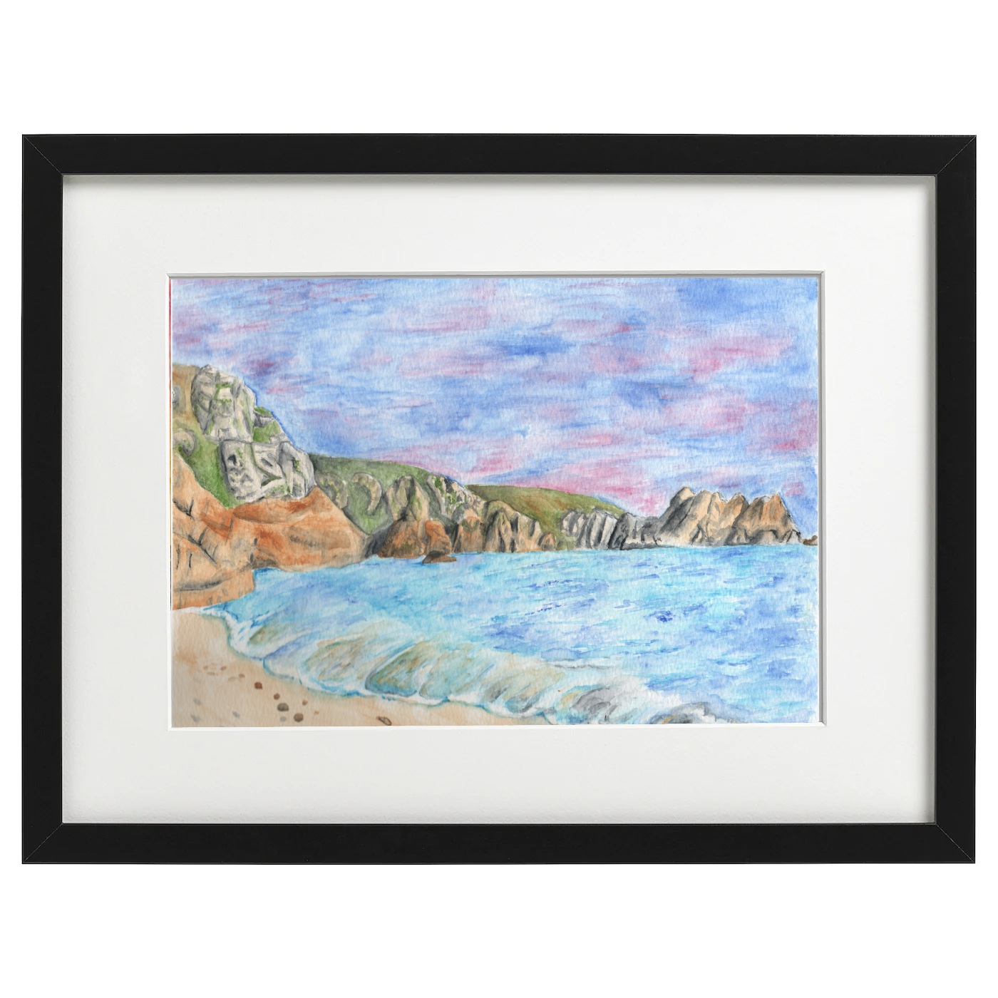 Cornwall - watercolour