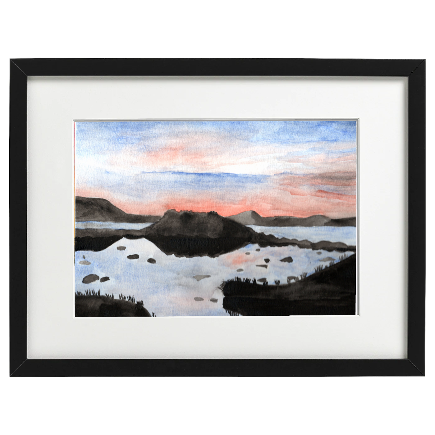 The Scottish Highlands - watercolour