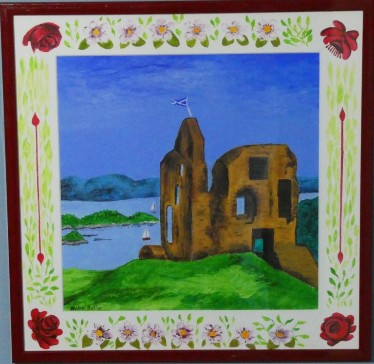 Tarbert Castle - Acrylic