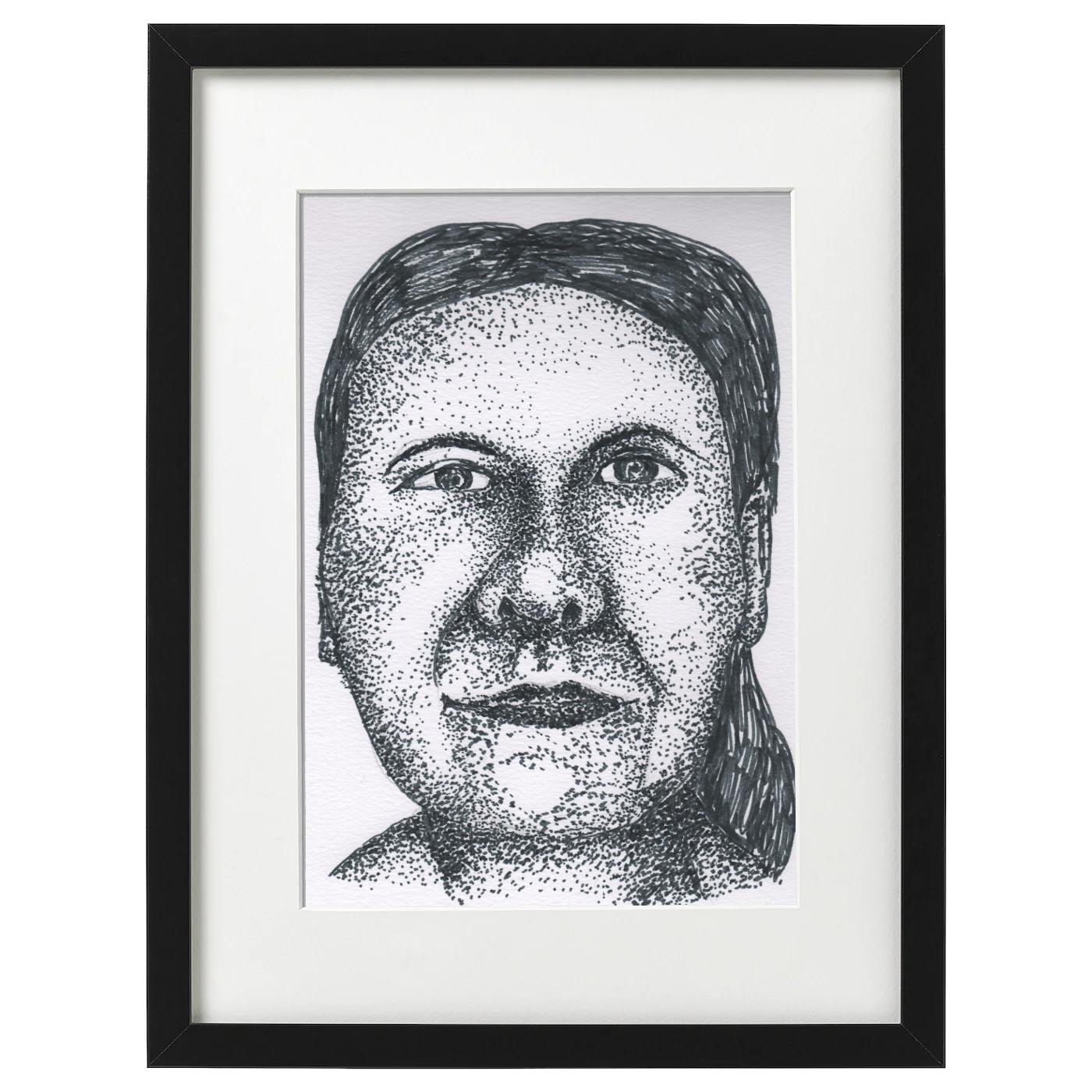 Self portrait - pointalism style