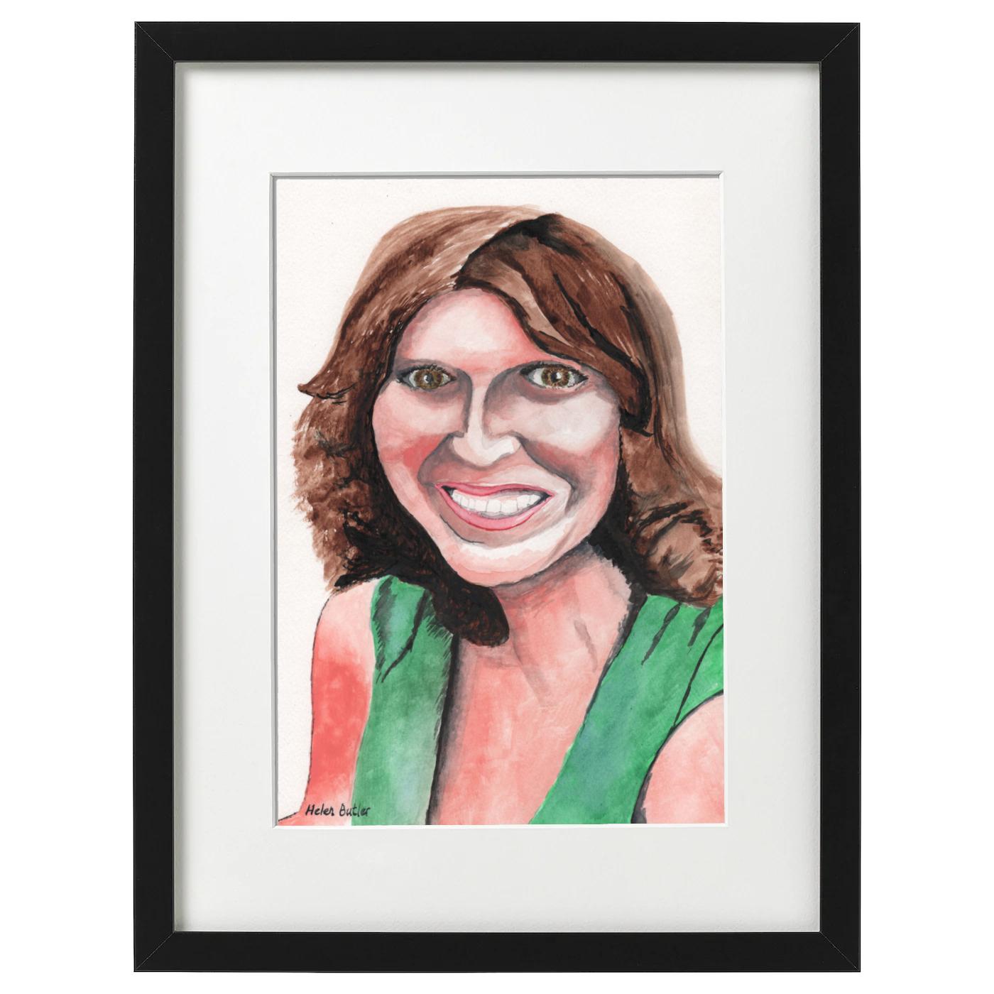 Aunty Marj - Watercolour